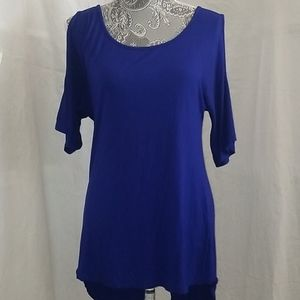 Cable & Gauge high-low tunic.